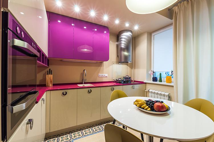 Идеальная кухня – это не только высокий стиль, но и максимальное удобство размещения предметовФОТО: domo-stroy.com