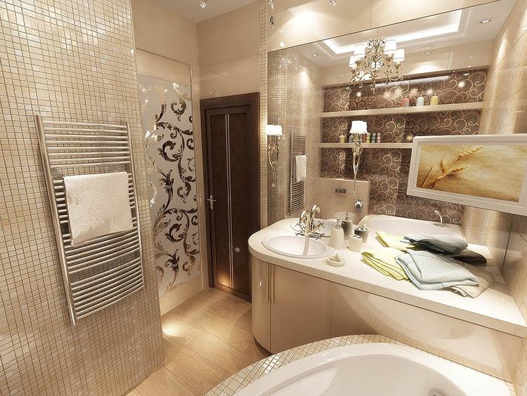 Ванная – не место для компромиссов.ФОТО: kitremont-ru.1gb.ru