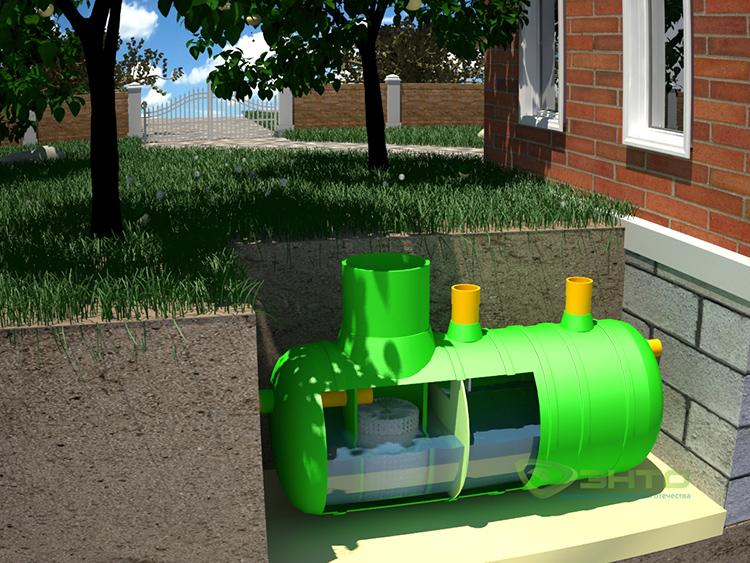 Без сточного резервуара на участке не обойтись, важно своевременно его чиститьФОТО: s8.hostingkartinok.com