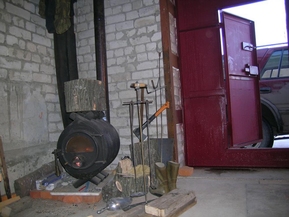 В зимнее время гараж нуждается в отопленииФОТО: chipmaker.ru