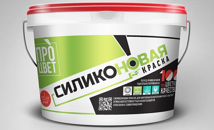 Силиконовый водоэмульсионный состав способен закрасить трещиныФОТО: remontik.org