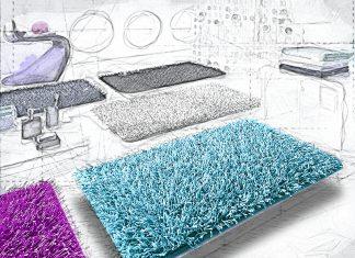 Красиво, комфортно, уютно: как выбрать коврик для ванной по фото