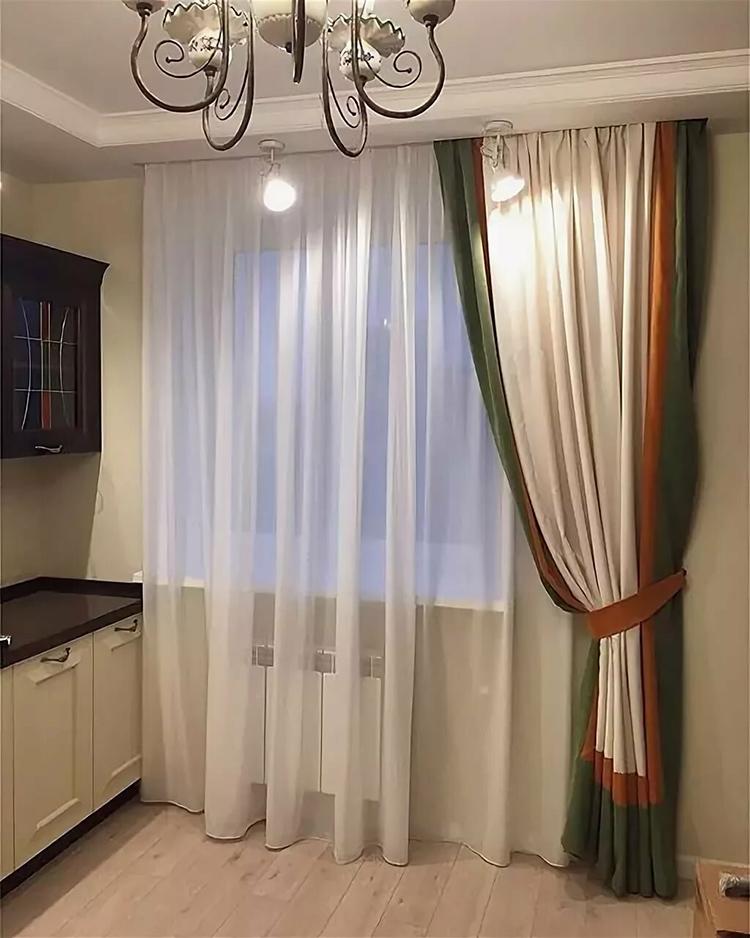 шторы для кухни на одну сторону фото обязательном порядке