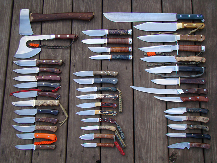 Видов ножей очень много, поэтому сложно выбрать подходящийФОТО: popgun.ru