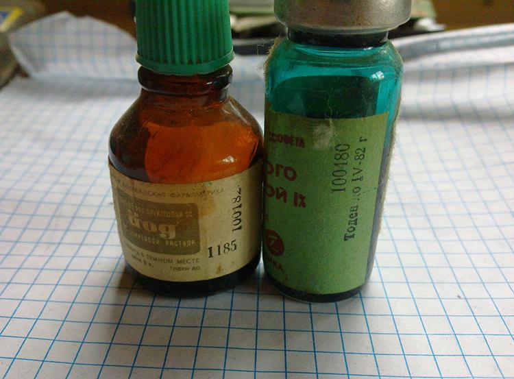 Такой краситель можно найти в любой аптечкеФОТО: joyreactor.cc