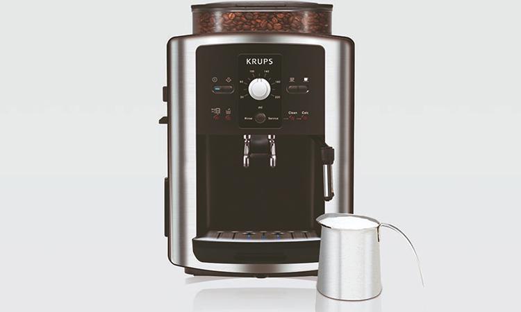 Krups EA8010PE с увеличенной ёмкостью для зёренФОТО: elipso.hr