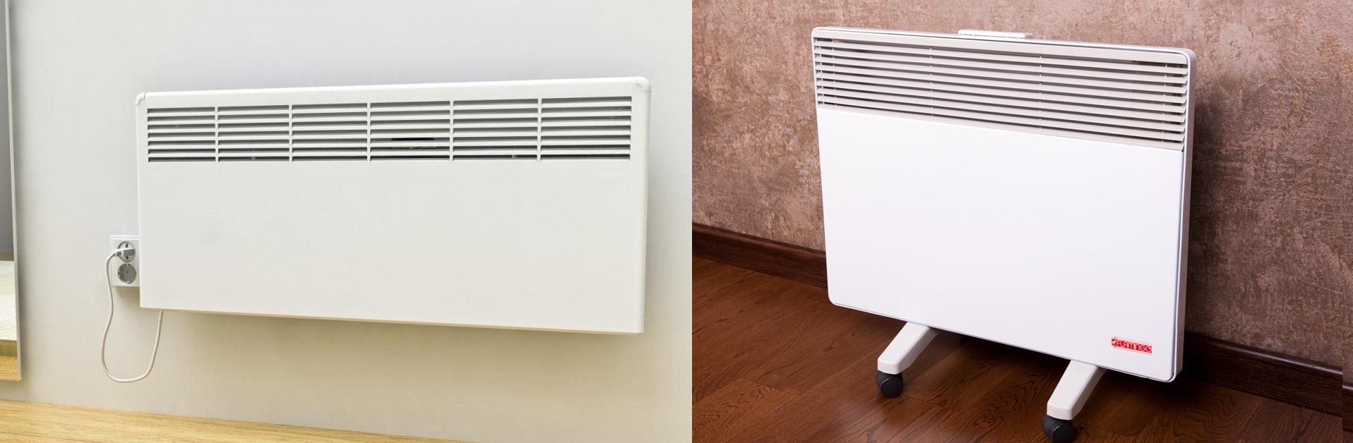 Электрические конвекторы могут иметь разное исполнениеФОТО: climateone.ru