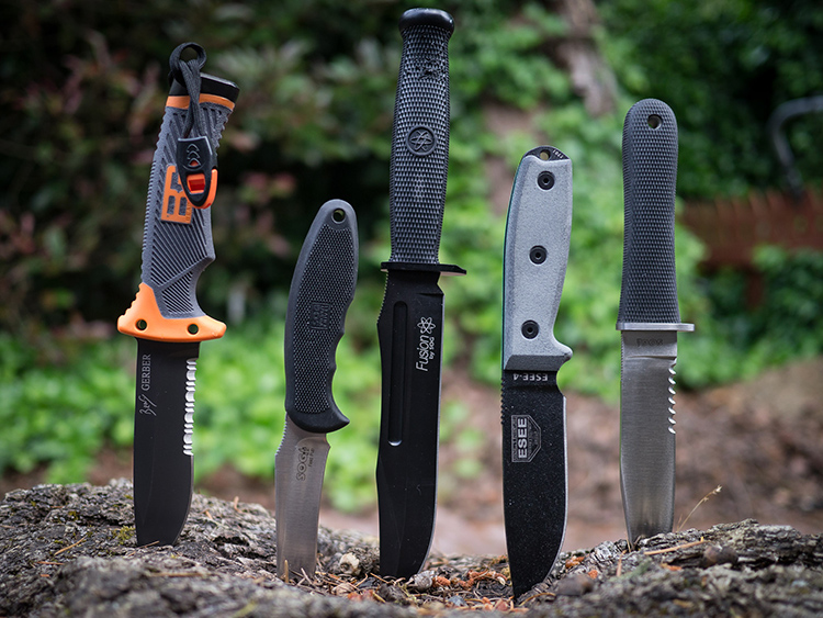 Ножи для выживания в экстремальных условияхФОТО: outlivetheoutbreak.com