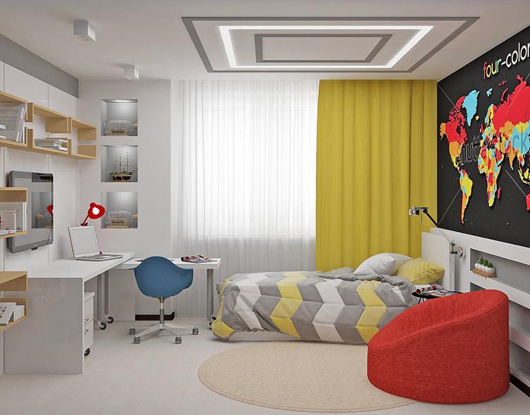 При оформлении комнаты для подростка нужно учесть много важных моментовФОТО:avatars.mds.yandex.net