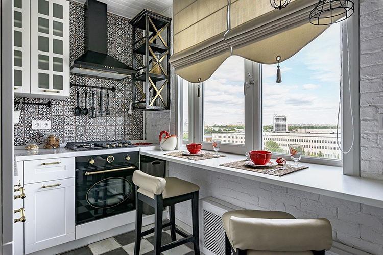 На маленьких кухнях значительно проще правильно разместить мебельФОТО: vies-don.ru