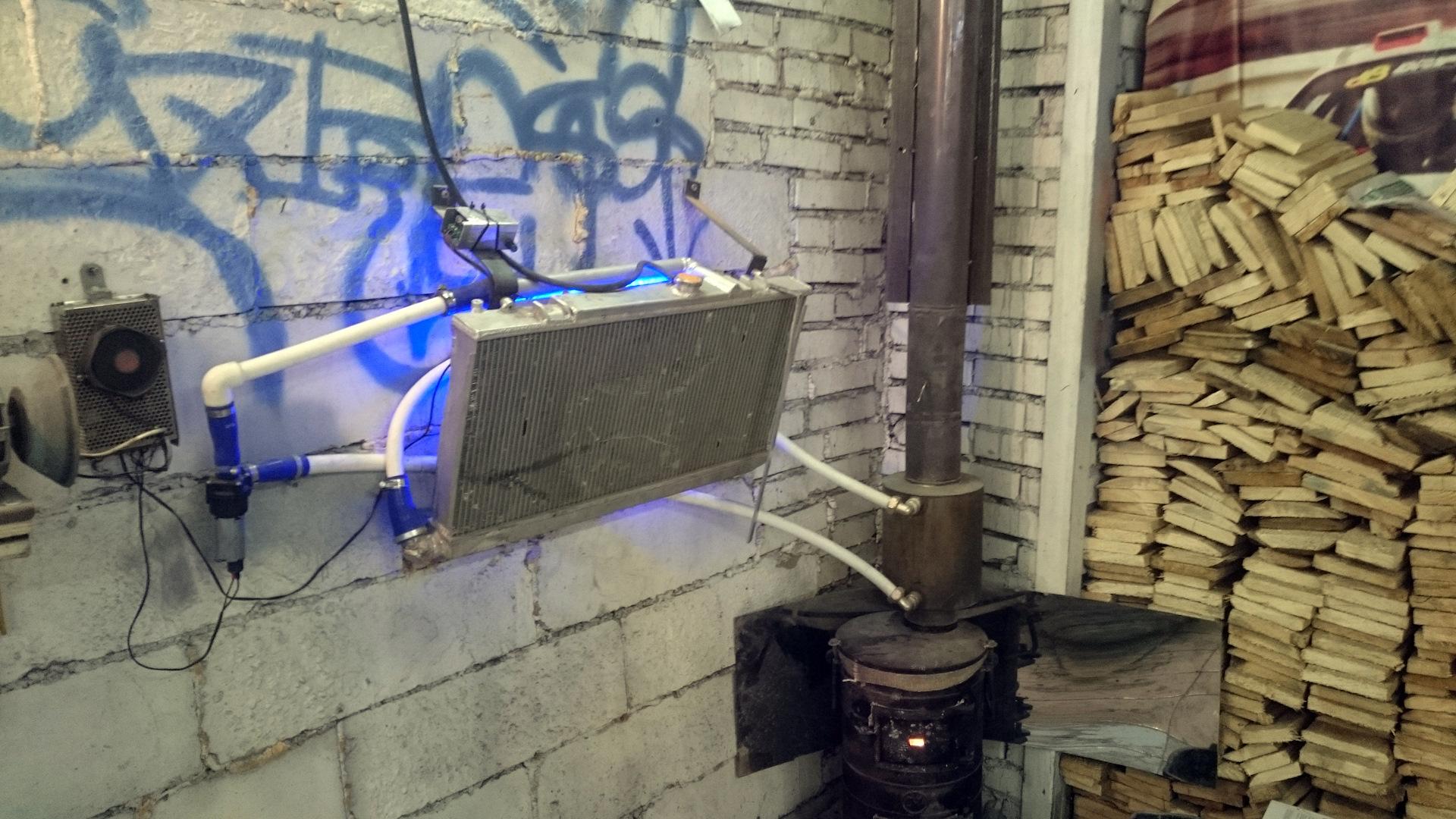 Для хранения дров придётся отвести место в гаражеФОТО: a.d-cd.net