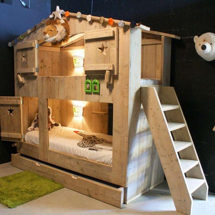 Такая кровать понравится любому ребёнкуФОТО: blog.zomerzoen.nl