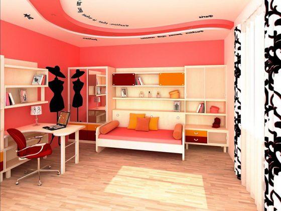 Интерьер комнаты для девочки-подросткаФОТО:avatars.mds.yandex.net