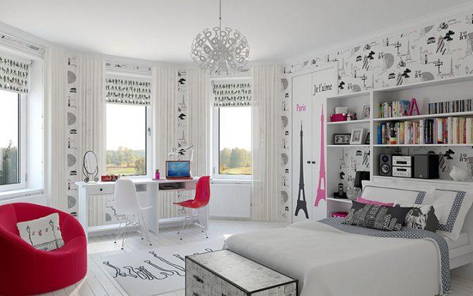 Светлая спальня для девочки-подросткаФОТО:avatars.mds.yandex.net