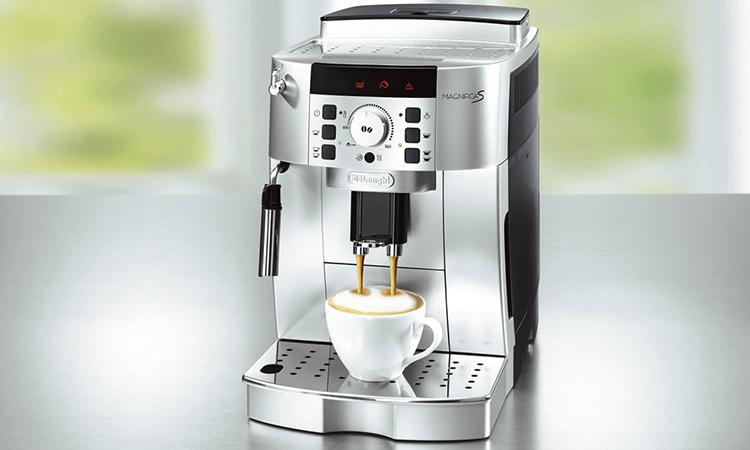 Кофемашина De'Longhi ECAM 22.110 находится в средней ценовой категорииФОТО: expressmarket.pro