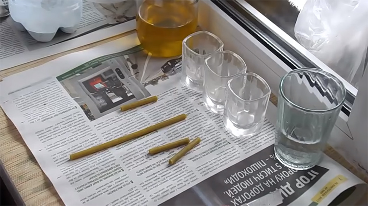 Вот и всё, что потребуется для изготовления свечи длительного горения на 10 часовФОТО: youtube.com