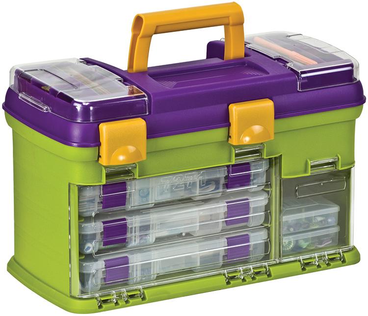 Небольшие органайзеры и объёмные системы хранения с вместительными ящиками – всё это может пригодиться для систематизации ваших инструментов. Но такие корзинки довольно громоздкие и тяжёлые для переноскиФОТО: tools.notionsmarketing.com
