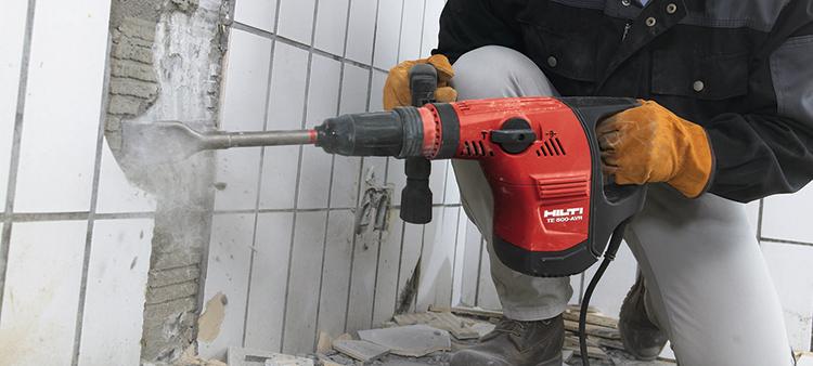 Выбор отбойного электрического молотка зависит от специфики выполняемых работФОТО: tf-pozicovnanaradia.sk