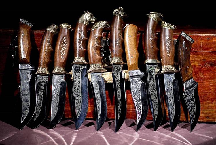Охотничьи ножи ручной работы — мечта коллекционераФОТО: tver-ohota.ru