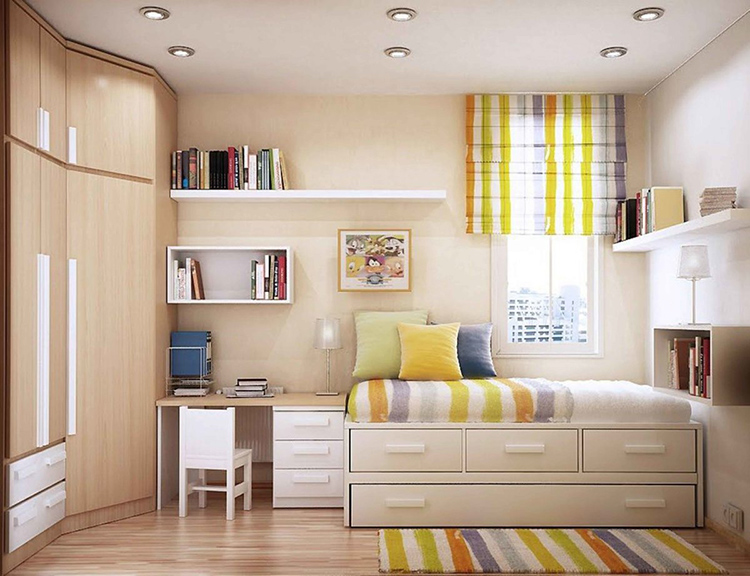 Цветовое решение для детской должно быть в спокойных тонахФОТО:avatars.mds.yandex.net