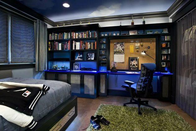 Интерьер подростковой комнаты в стиле техноФОТО:avatars.mds.yandex.net