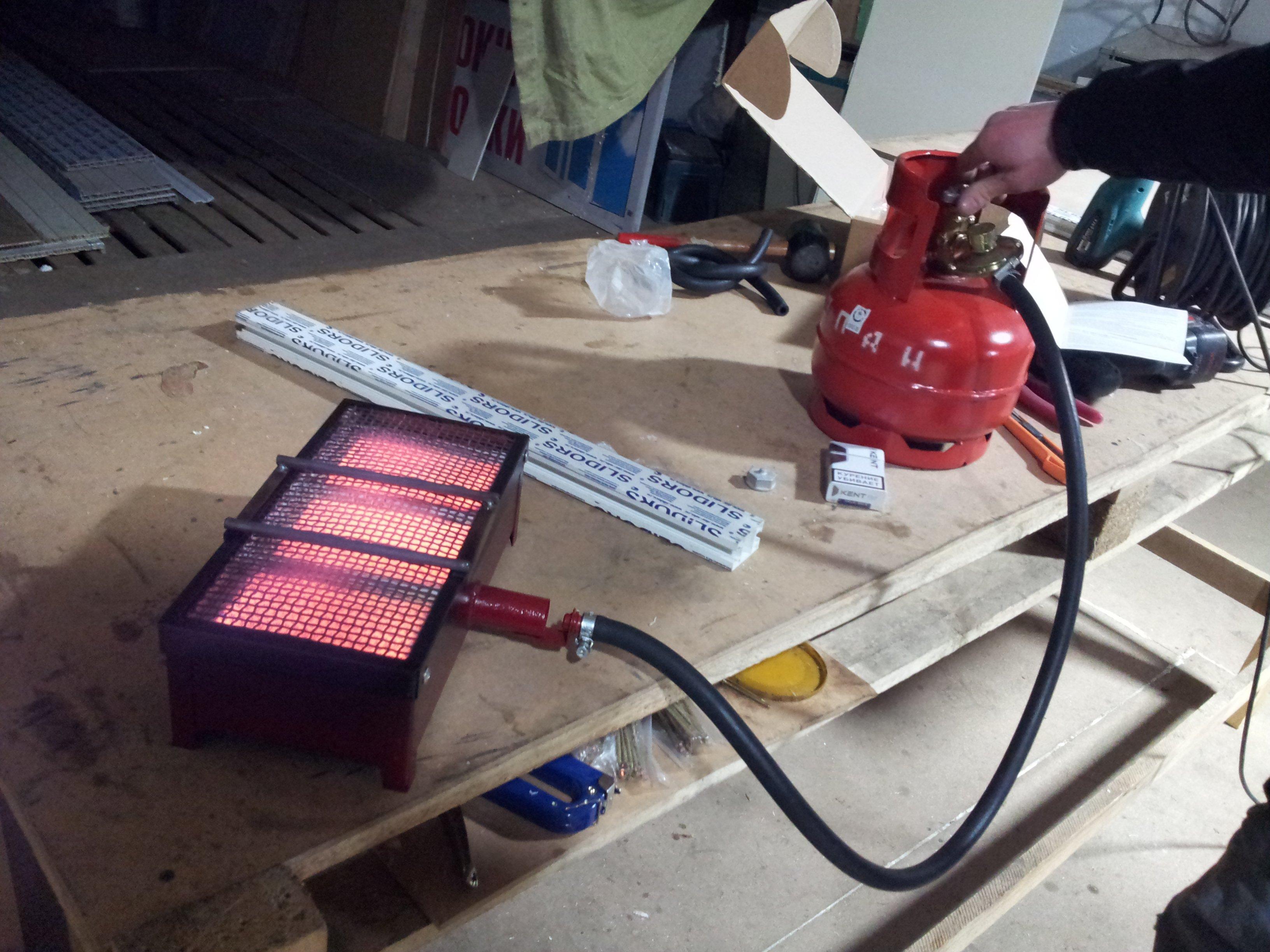 Для подключения газового оборудования используются сменные баллоныФОТО: sanatatur.ru