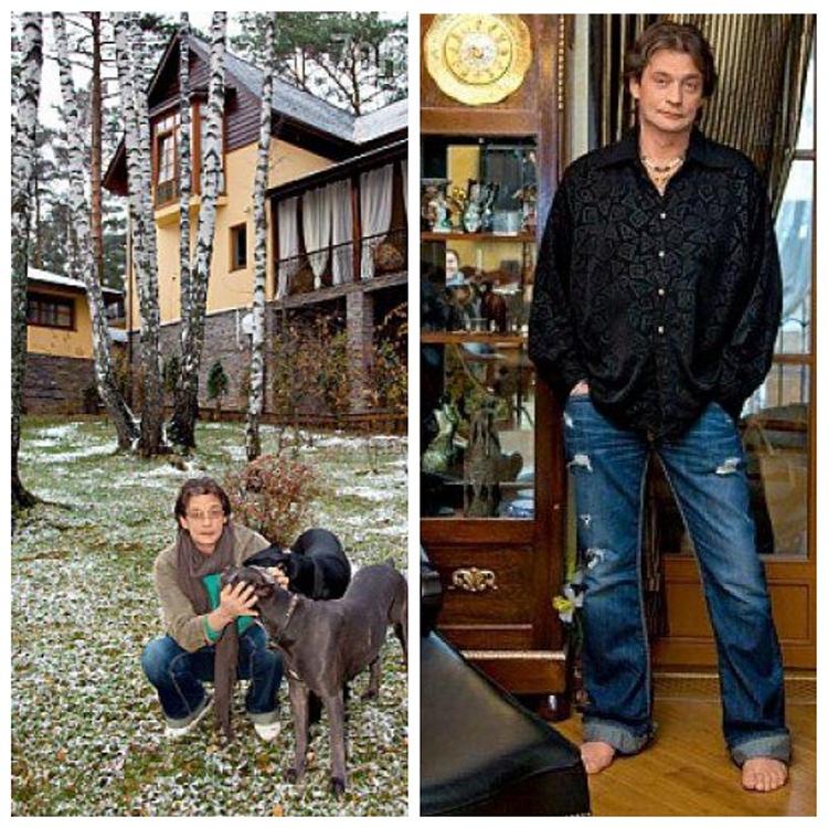 В доме много антикварной мебели, а также коллекционных статуэток, которые Александр Домогаров хранит в старинных шкафах-витринах из натурального дереваФОТО: 1olestnice.ru