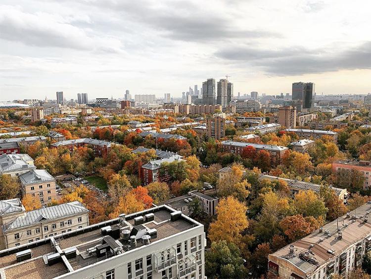 Из окон квартиры открывается потрясающий вид на МосквуФОТО: instagram.com