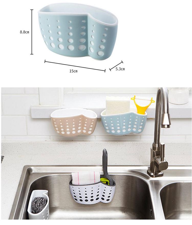 Отлично подойдёт для хранения губок в ванной и на кухне. Кстати, если губка слишком большая, можно прикрепить два держателя близко друг к другу, чтобы получилась длинная полочкаФОТО: ru.aliexpress.com
