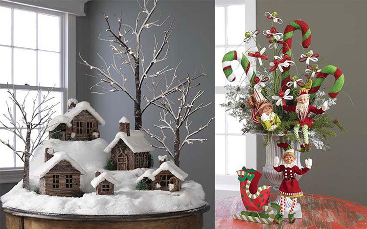 Идеально, если вы сможете создать необычные отдельно стоящие композиции, рядом с которыми все новогодние праздники будут фотографироваться ваши домашние и гостиФОТО: i.pinimg.com