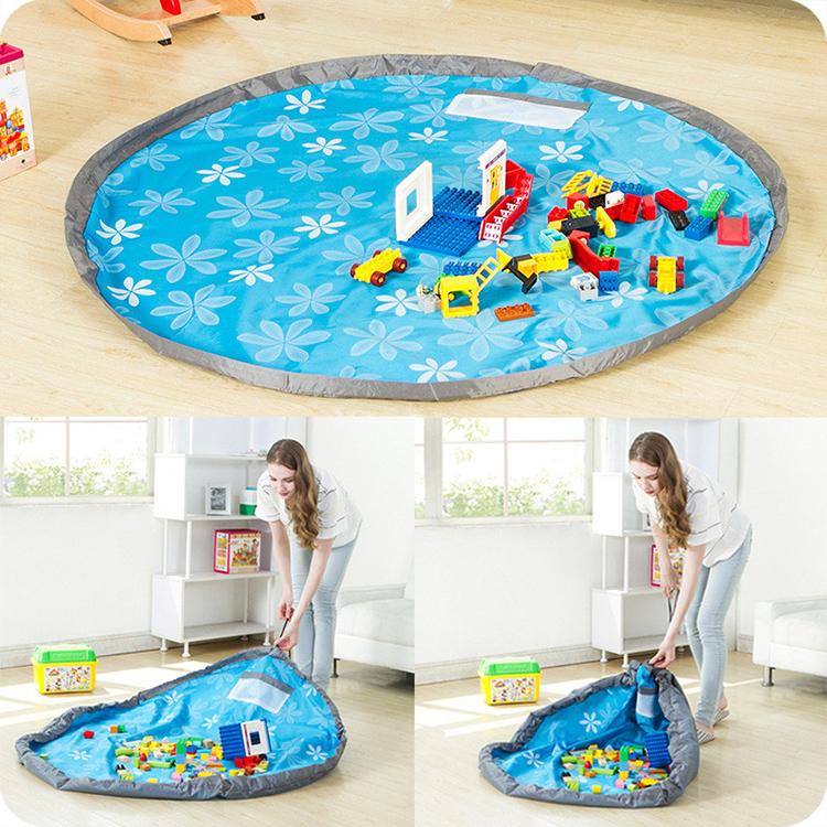 Портативный манеж-мешок для детей поможет собрать игрушки без усилийФОТО: ru.aliexpress.com