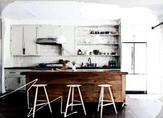 Выбираем табуретки для кухни: виды и фото в интерьере