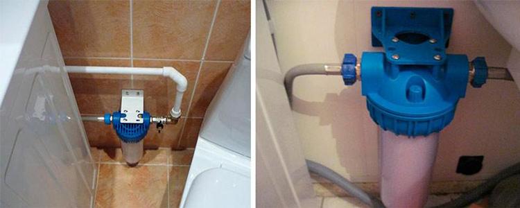 Чаще всего перед стиральной машиной ставят фильтр тонкой очистки, в прочих случаях – грубой очисткиФОТО: filtryaqua.ru