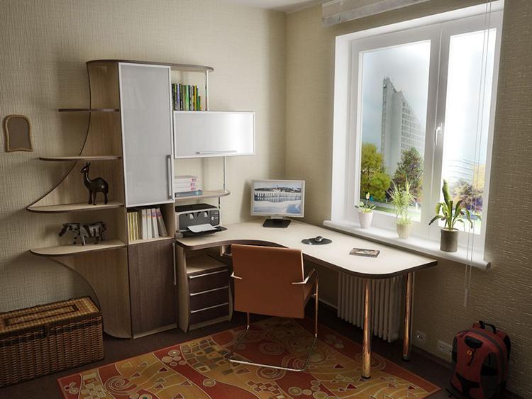 В собранном виде угловой стол сложно переместить в другое местоФОТО: mebelsuite.ru