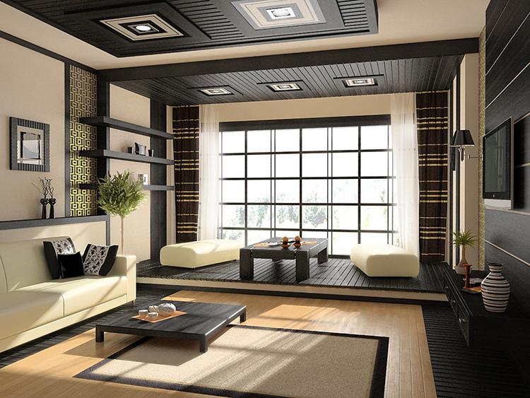 Исключение составляет разве что японский стиль с его строгостью к цветам, граничащий с минимализмом