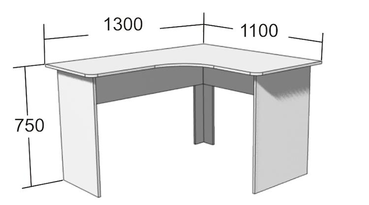 Основные минимальные размеры углового столаФОТО: static.gmstar.ru