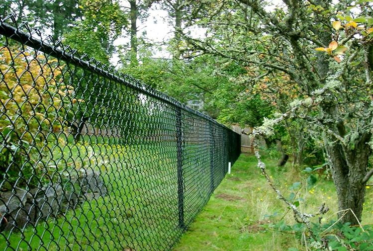 Забор из металлической сетки прослужит много лет