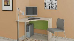 Угловой письменный стол «Киви» производства МФ «ТриЯ»
