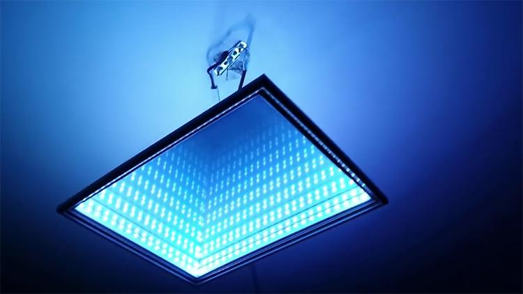 Вот такой 3D-светильник можно легко изготовить самостоятельно