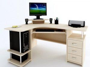 КОМПЬЮТЕРНЫЙ СТОЛ КОМПАС С-224 БН, производство мебельная фабрика «Стиль»