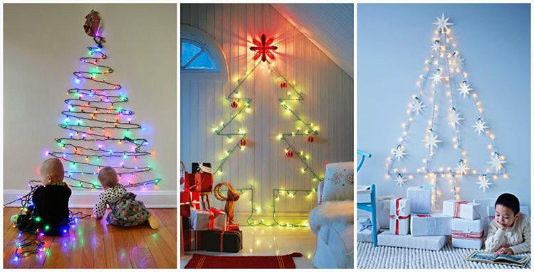 Как красиво украсить ёлку для дома: фото интересных решений для праздничного интерьера в 2020 году