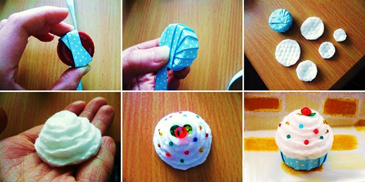 Процесс изготовления капкейка