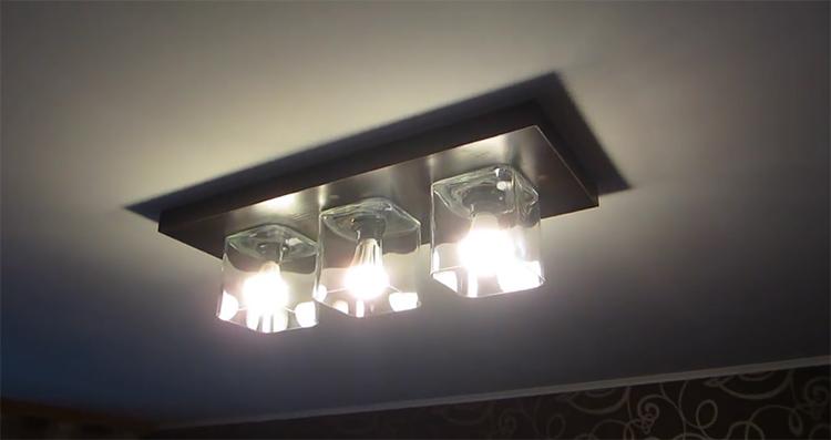 Изготовление вот такого светильника мы рассмотрим в пошаговой инструкции ниже
