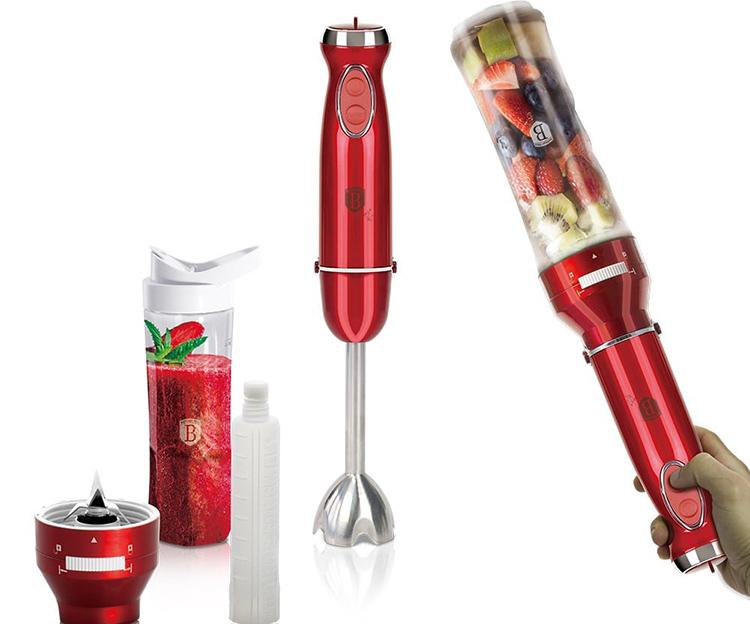 Погружные блендеры можно использовать в любой посуде, но на многие из них также есть специальные насадки-измельчителиФОТО: megaholl.ru