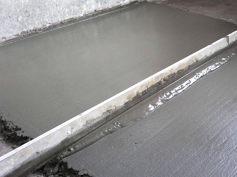Количества заливаемого бетона должно быть достаточно