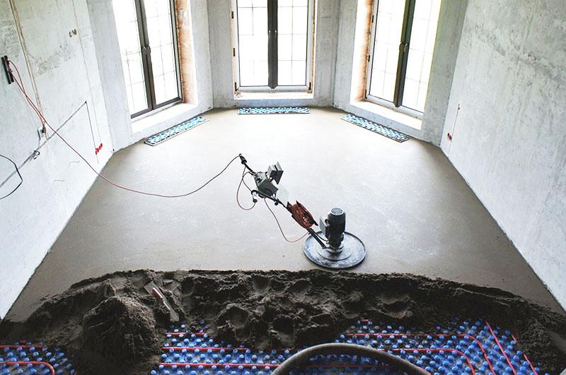 Маяки для бетона могут оставаться внутри заливаемого слоя
