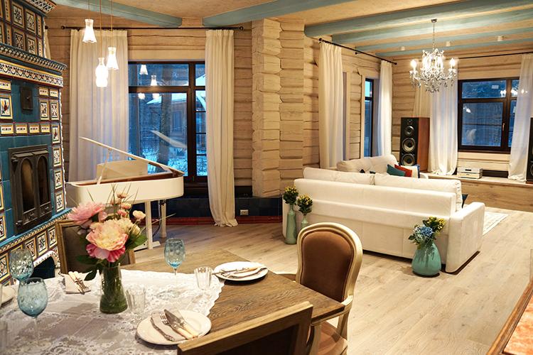 Гостиная разделена на три зоныФОТО: mpdesign.ru