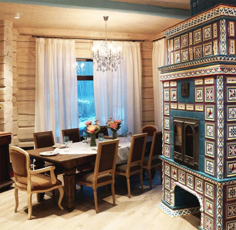 Печь представляет собой настоящее произведение искусстваФОТО: mpdesign.ru