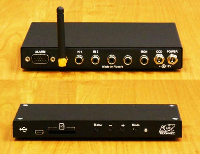 Четырёхканальный аналоговый видеорегистратор со встроенным GSM-модулем, модель АСВ-Техникс ASV-RF03М4-GSM
