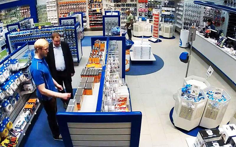 Система видеонаблюдения в супермаркетах используются не только для предотвращения краж, но и для анализа бизнес-процессов